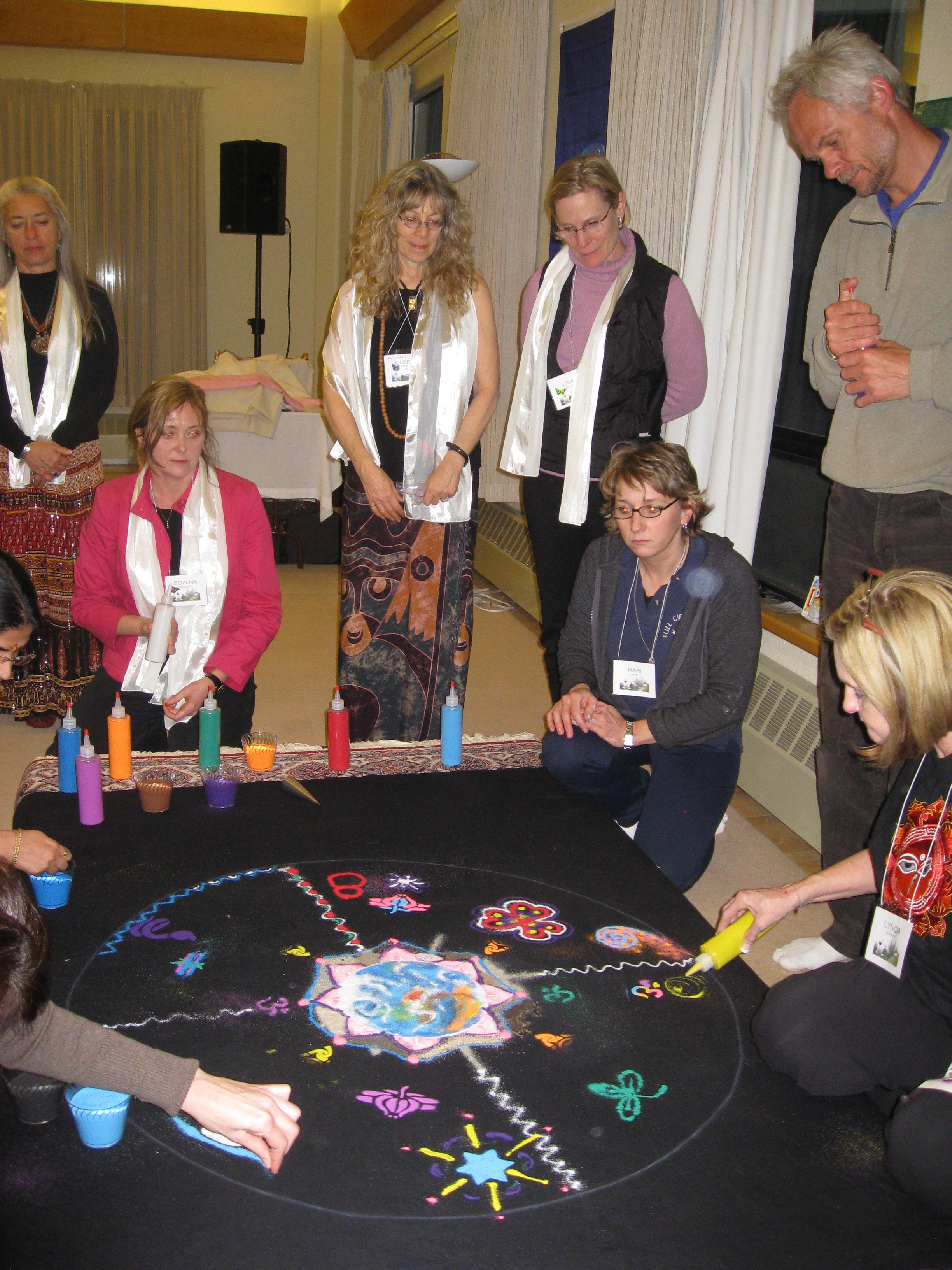 Mandala Facilitation Training(February 2009)