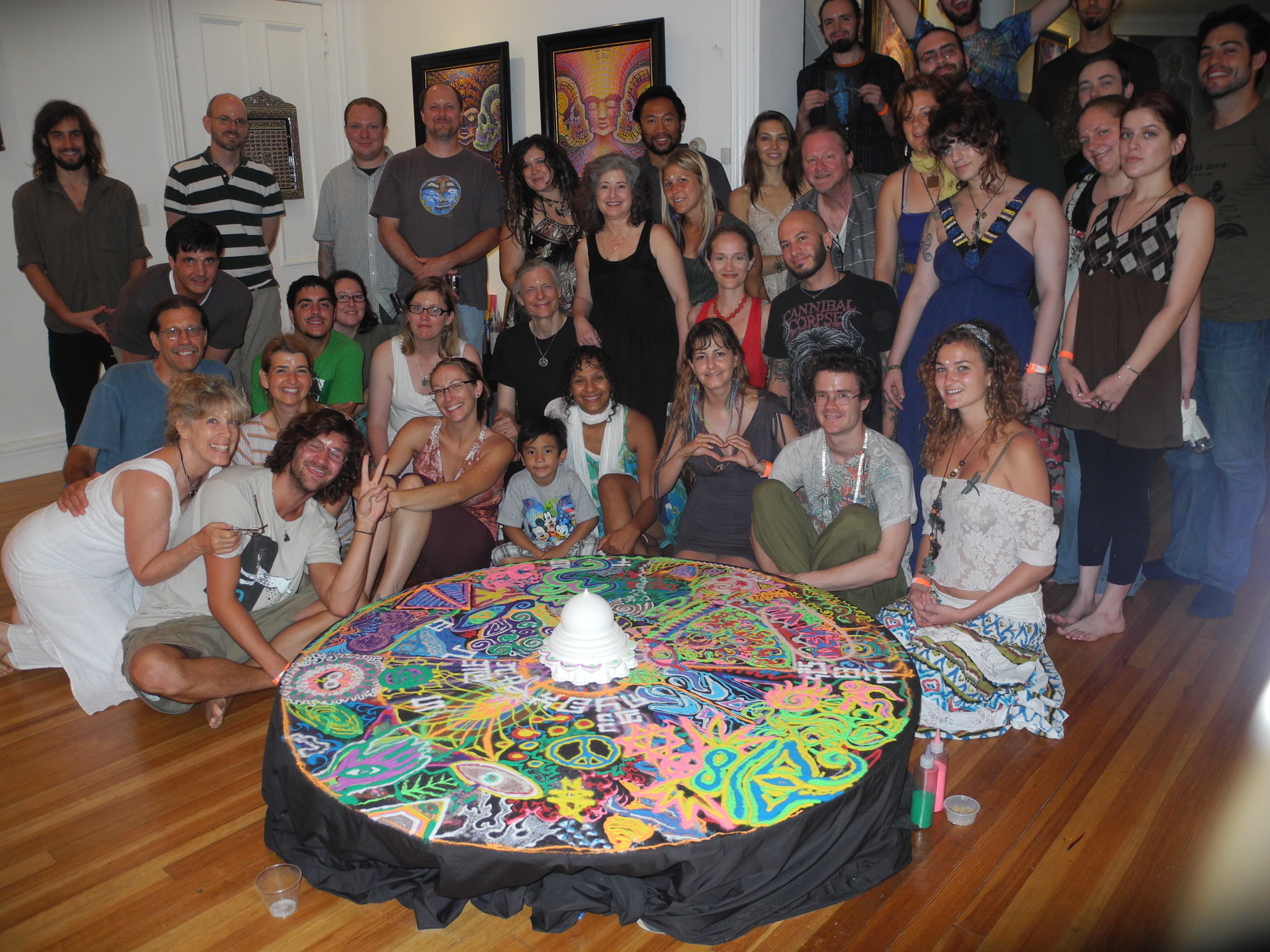 CoSM Sunday Art Church(July 2012)