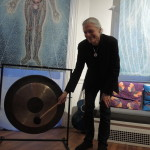Alex Grey begins the Full Moon event