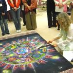 Dismantling of the mandala