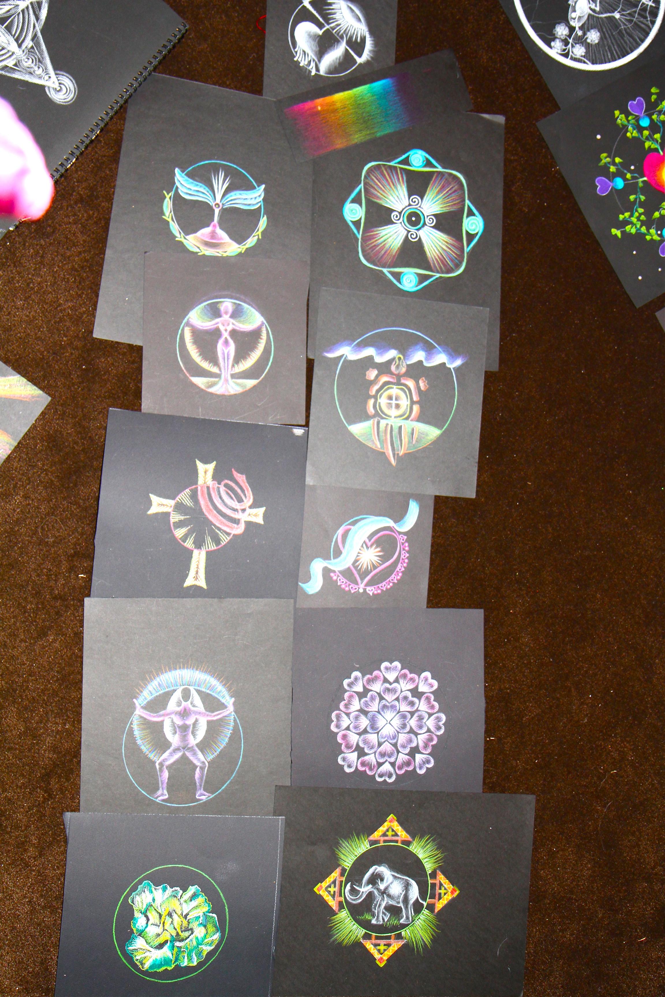 The Mandala:  Drawing Sacred Symbols