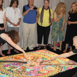 Dismantling the sand mandala