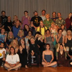 The entire Visionary Art Intensive class
