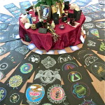 Mandala drawings(Photo courtesy ofRamona Snow Teo)