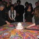 Dismantling of the sand mandala