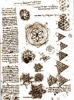 Studies of the Flower of Life were found in Leonardo DaVinci's notebooks.