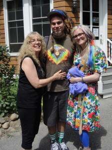 Rosie with Chris Dyer and partner