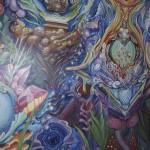 Mushroom Cafe mural