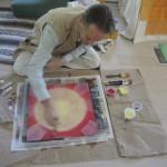 Sacred Yantra Painting (1)