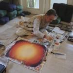 Sacred Yantra Painting (12)