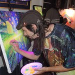 Artist Jon Solter live painting. Check him out at http://jsolter.bigcartel.com